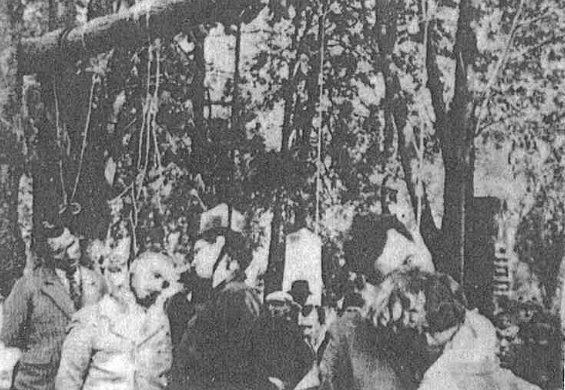 public hanging in crete