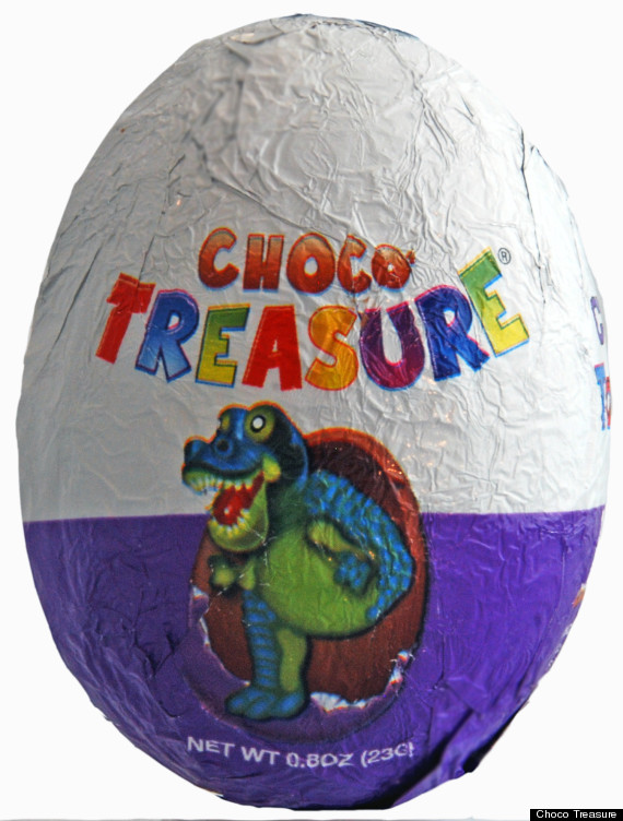 choco treasure eggs avoid u s ban on toy filled candy with new