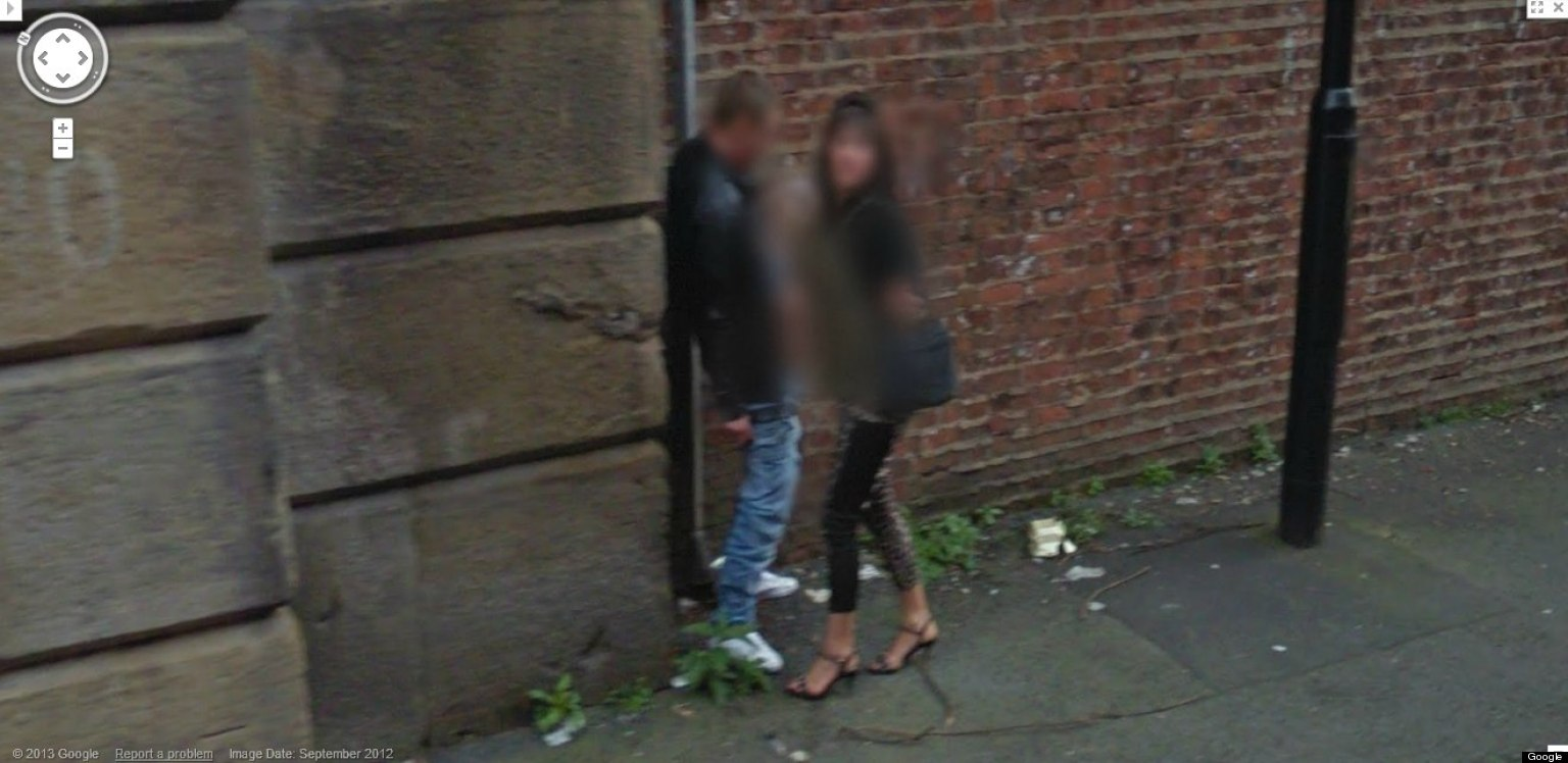 People caught naked on google earth topic