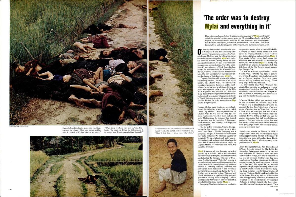 My lai massacre photos