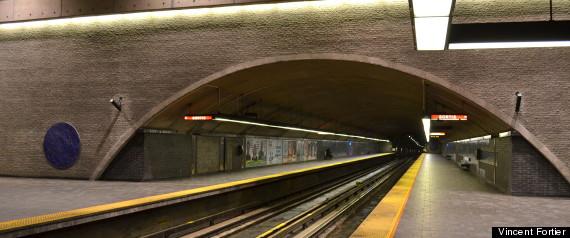 Station De Metro Georges Vanier