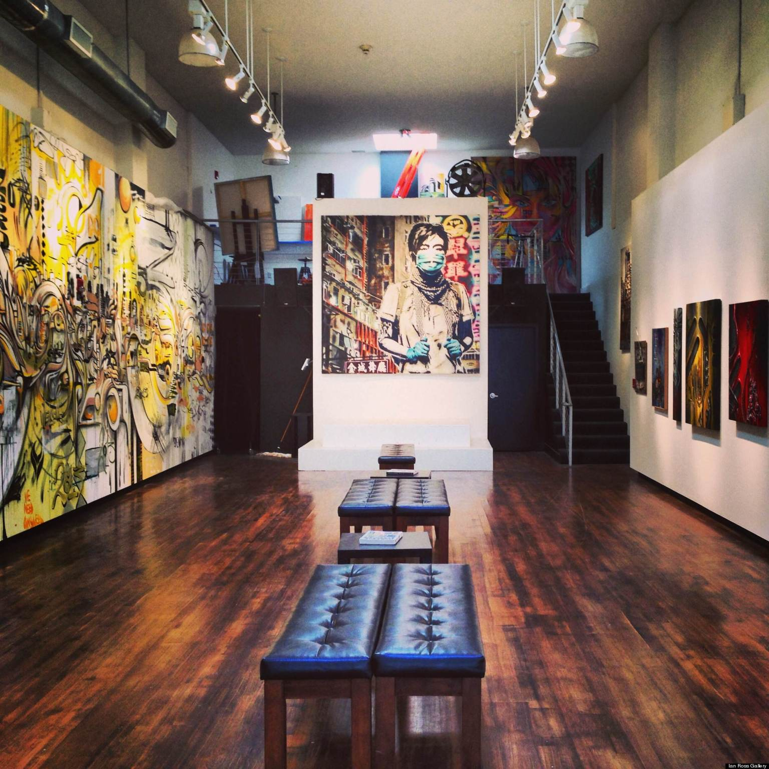 Design Gallery Live Sf Tech Boom Launches Live Artists To New Heights Photos Huffpost