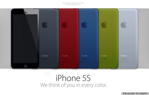 iphone couleur
