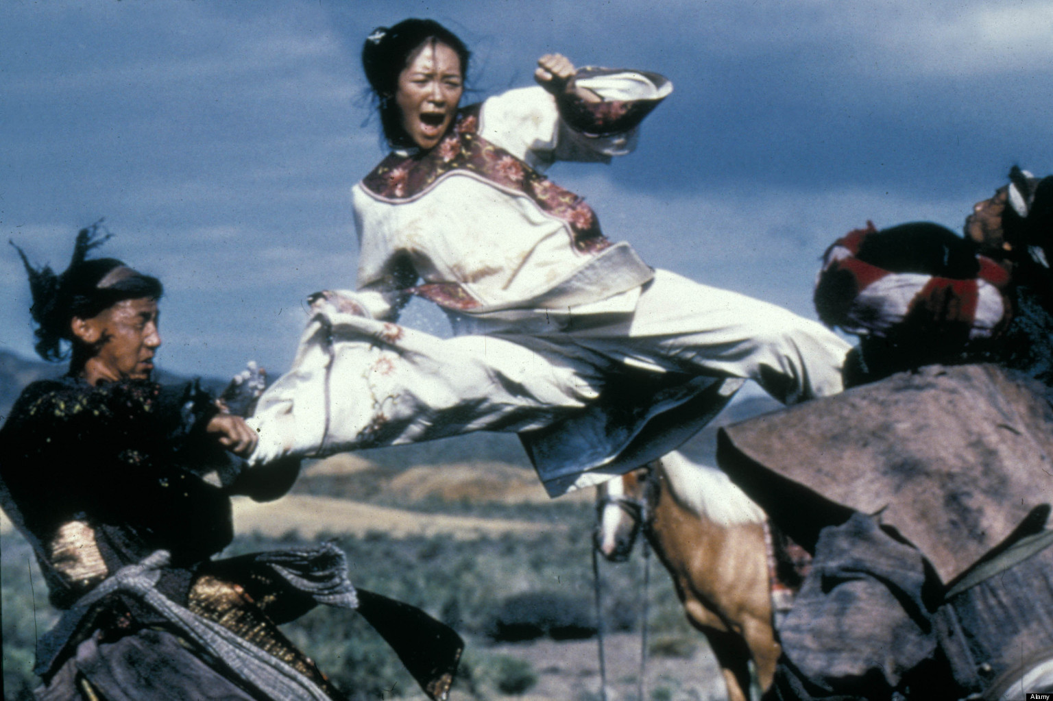 Michelle Yeoh Fight Michelle Yeoh At Asian Film