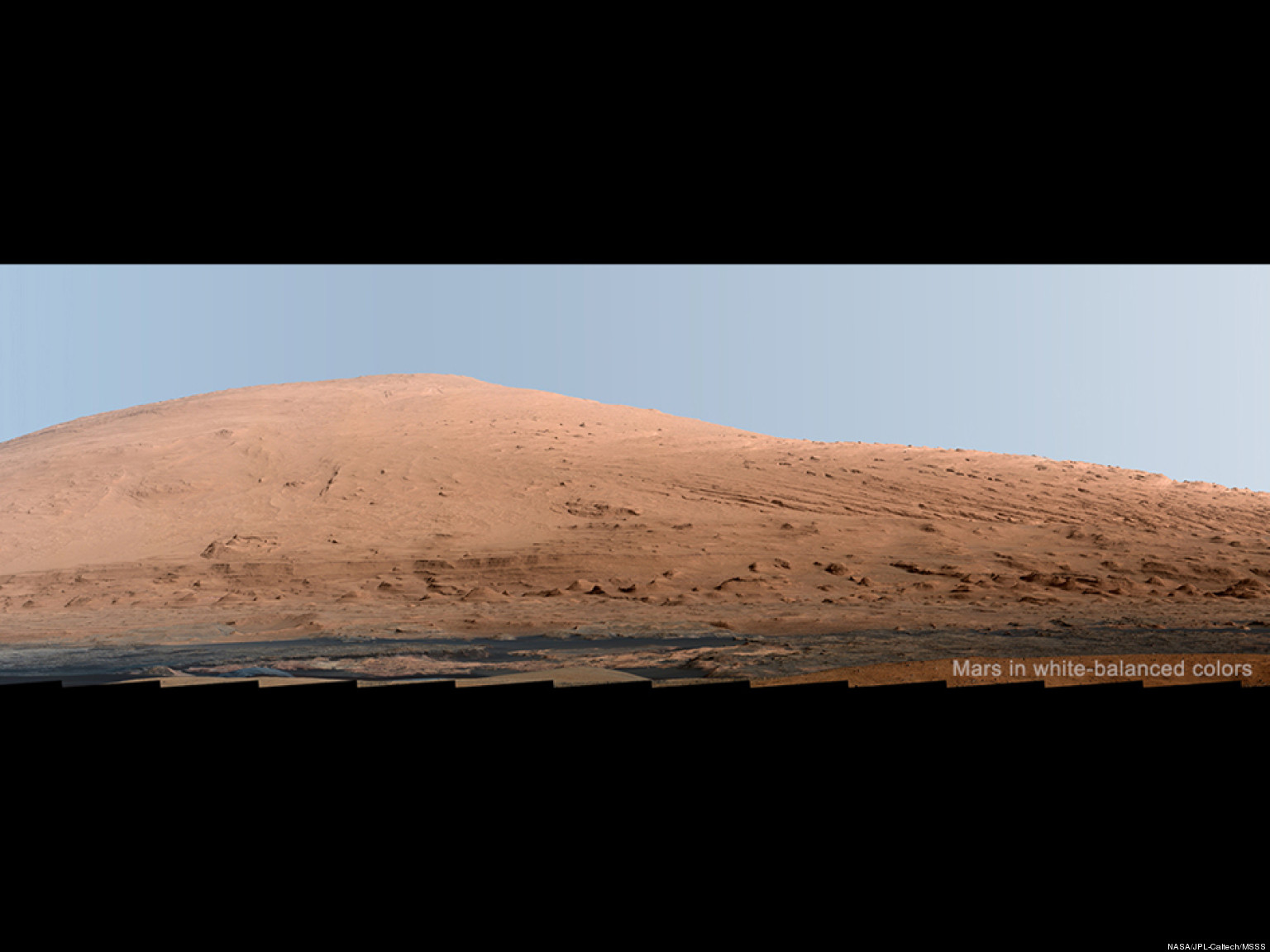Everest Panorama Mars Mars Panorama Photos Show