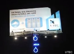 Billboard Water Peru