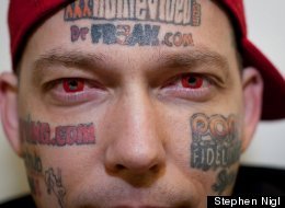 How Do You Pay For The Removal Of 20 Facial Tattoos? With More Tattoos, Of Course
