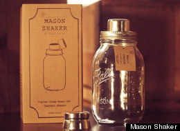Mason Jar Cocktail Shaker: Form + Function + Hipsters