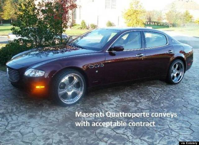 virginia house comes with maserati
