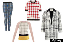 Chic Checks For Box Fresh Spring Style