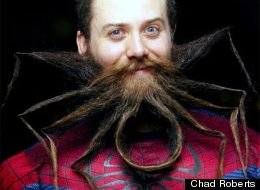 Man Has Amazing Spider-Beard