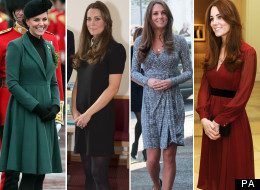 Kate Middleton Pregnant: Duchess Of Cambridge Sticks With Her Pregnancy Pose (PICTURES)