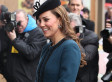 Kate Middleton Rides The Tube With The Queen In Dress Coat & Hat (PHOTOS)