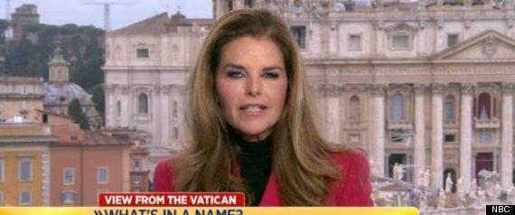 MARIA SHRIVER NBC