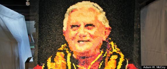 POPE CONDOM PORTRAIT
