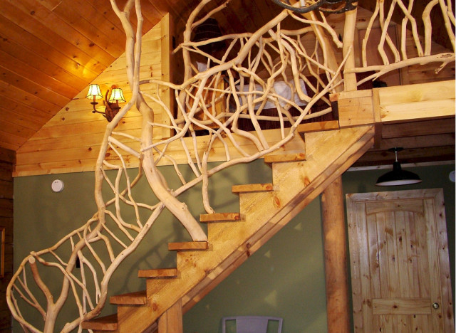 12 Staircase Designs That Practically Make Us Dizzy With