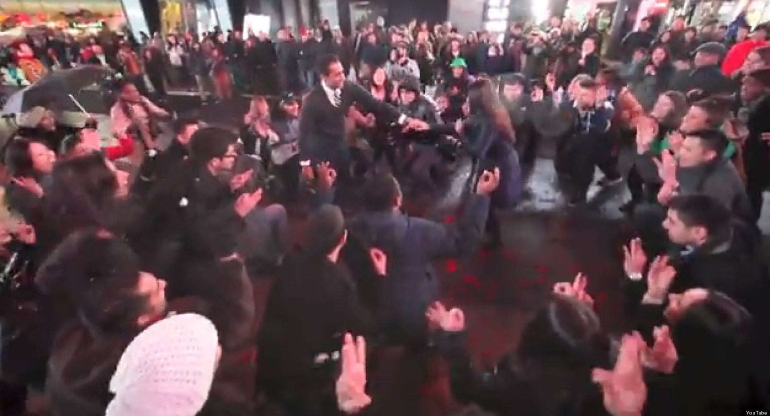 Flash Mob Marriage Proposal Set To Bollywood Music Takes ...