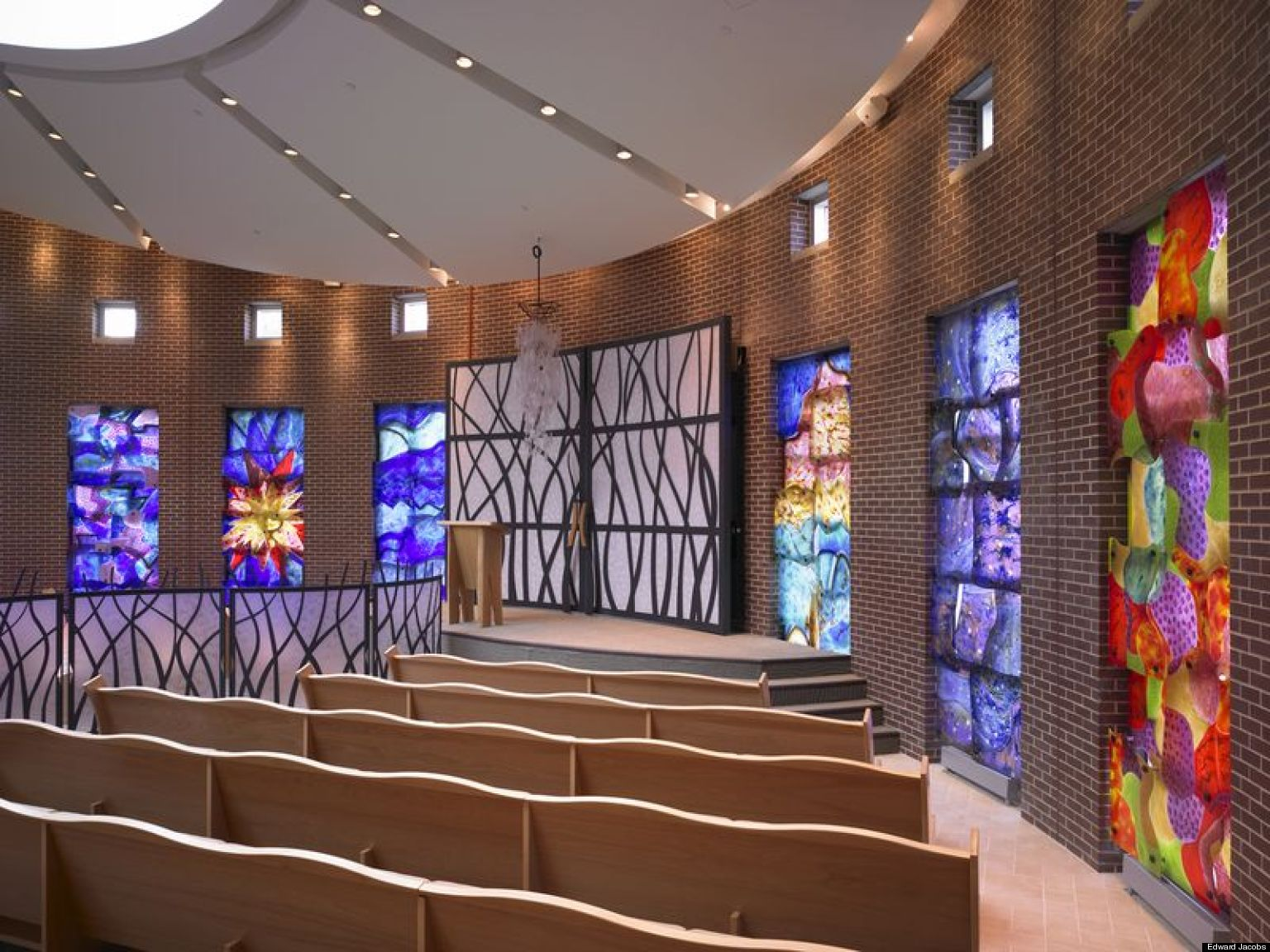 Design By: Synagogue Design: Beyond Lions, Tablets And Stars Of David