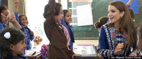 Hmqr Visits School Girls In Amman Jordan