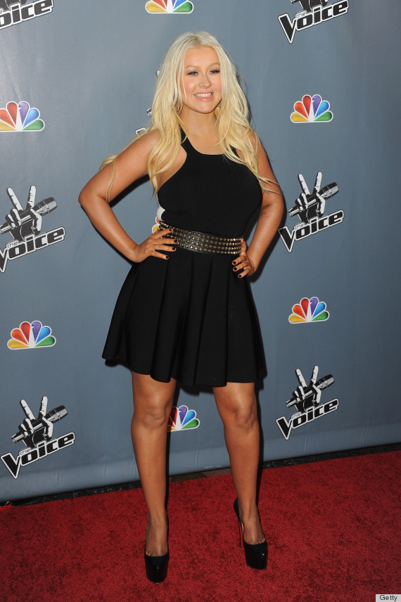 christina aguilera new look