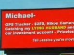 Cheating Husband Billboard