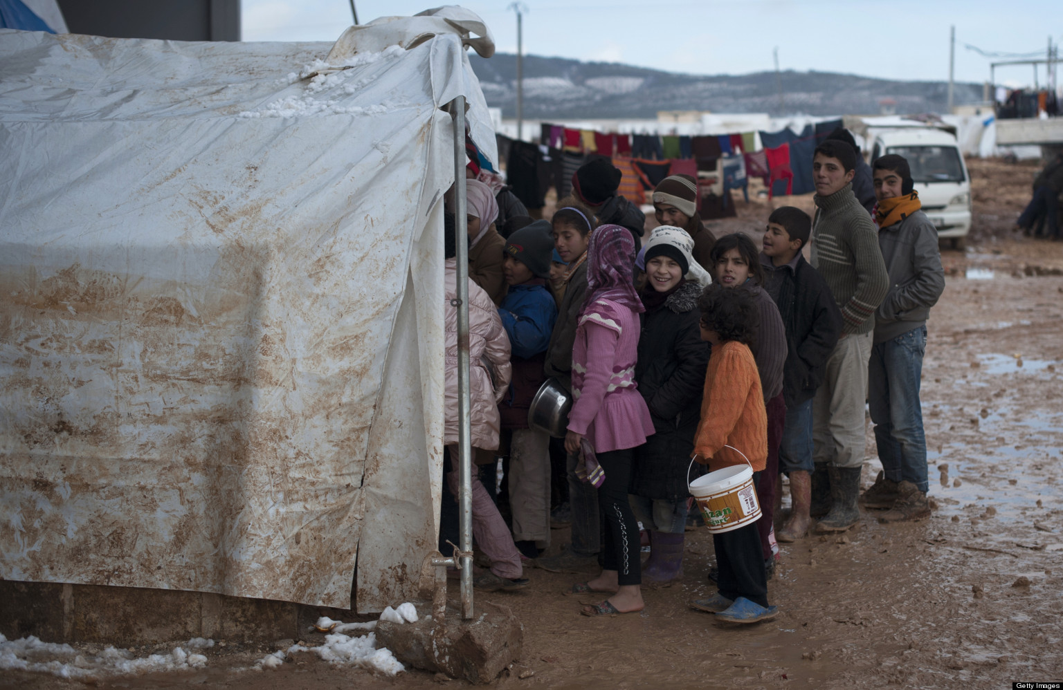 Field Diary: Displaced Children Try to Overcome Shock From Violence in Syria