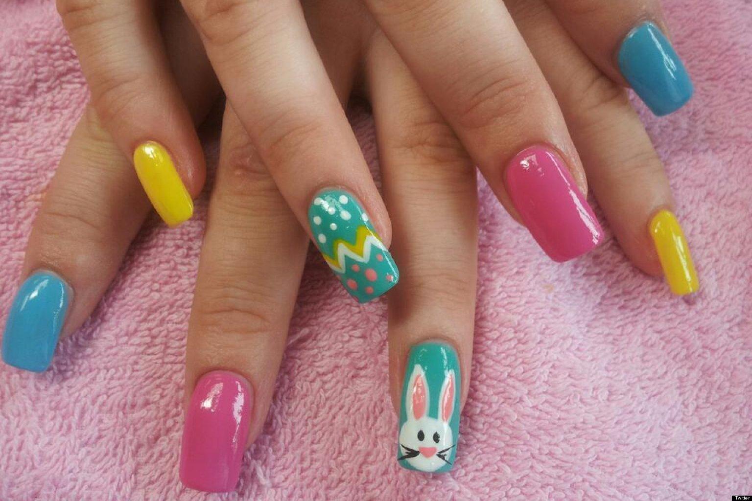 Full color nail art - Full Color Nail Art 30