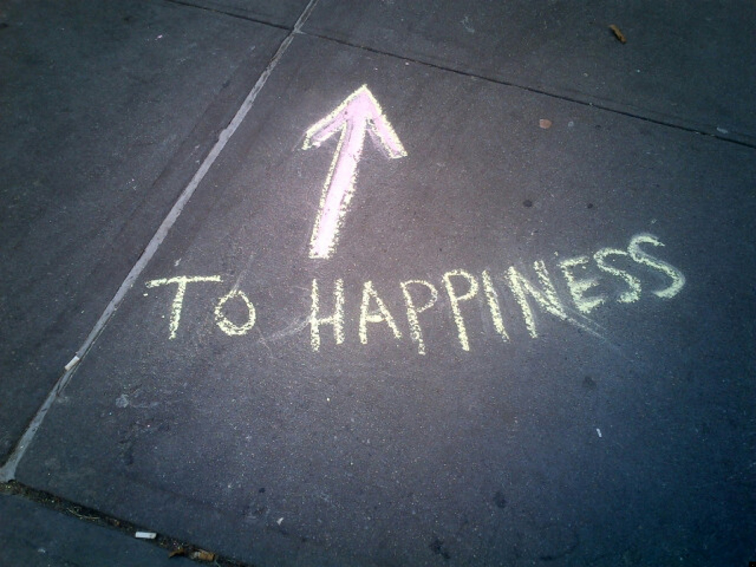 Happiness Images In Sidewalk Art, Stickers, Magnets And ...