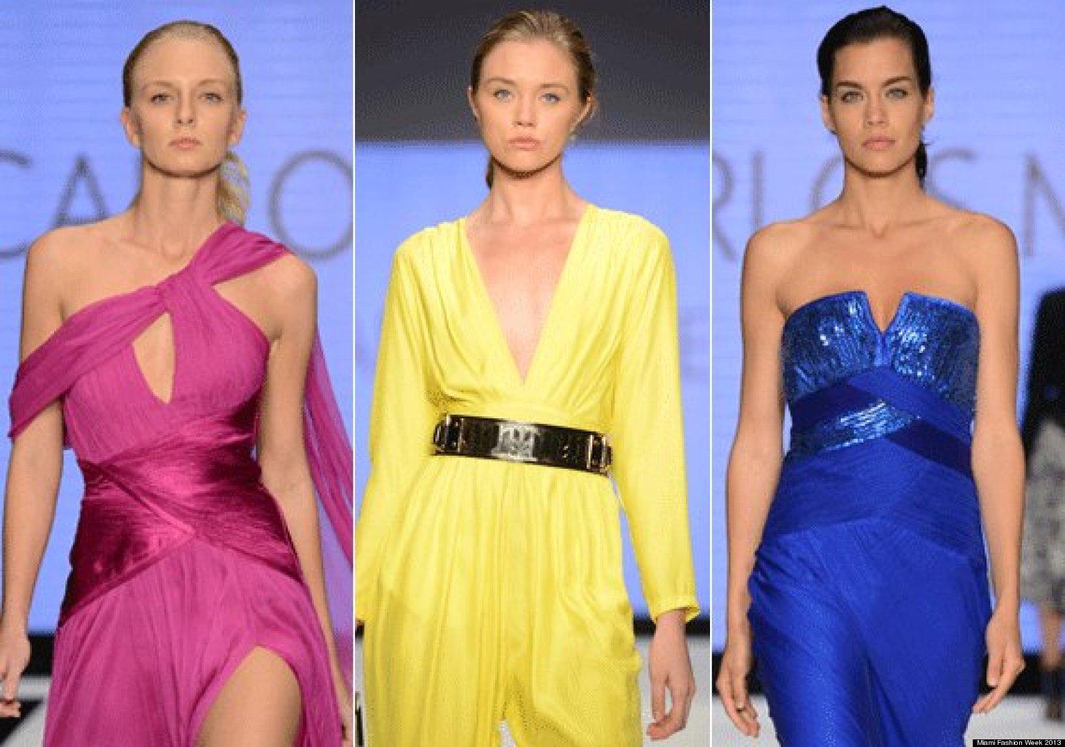 Miami Fashion Week 2013 Brazilian Designer Carlos Miele Opens A Weekend Full Of Style Photos