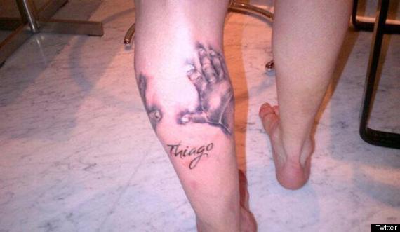messi tatuaje