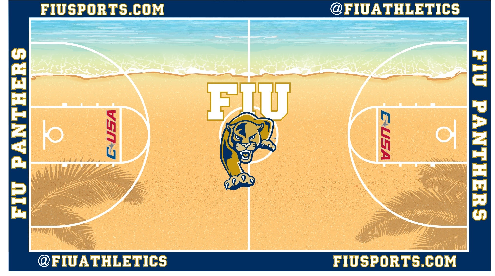 FIU's Beach Basketball Court Will Be College Hoops' Must-Sea (PHOTO) | HuffPost