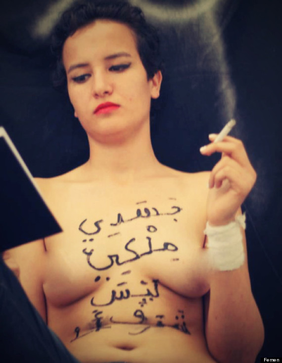 Muslims extremists are scared off the sight of boobs but love the sight of blood
