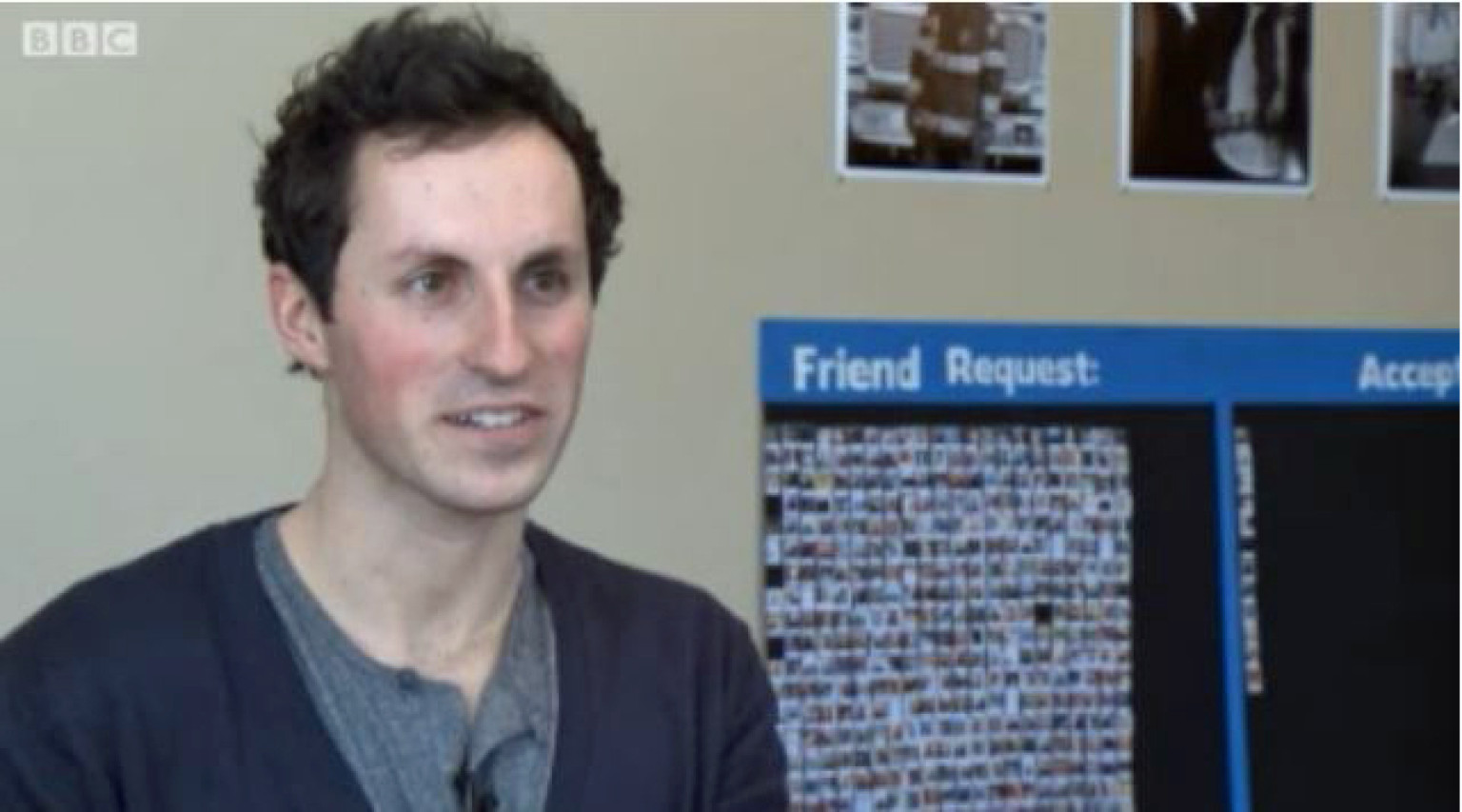 Il part à la rencontre de ses 788 amis Facebook