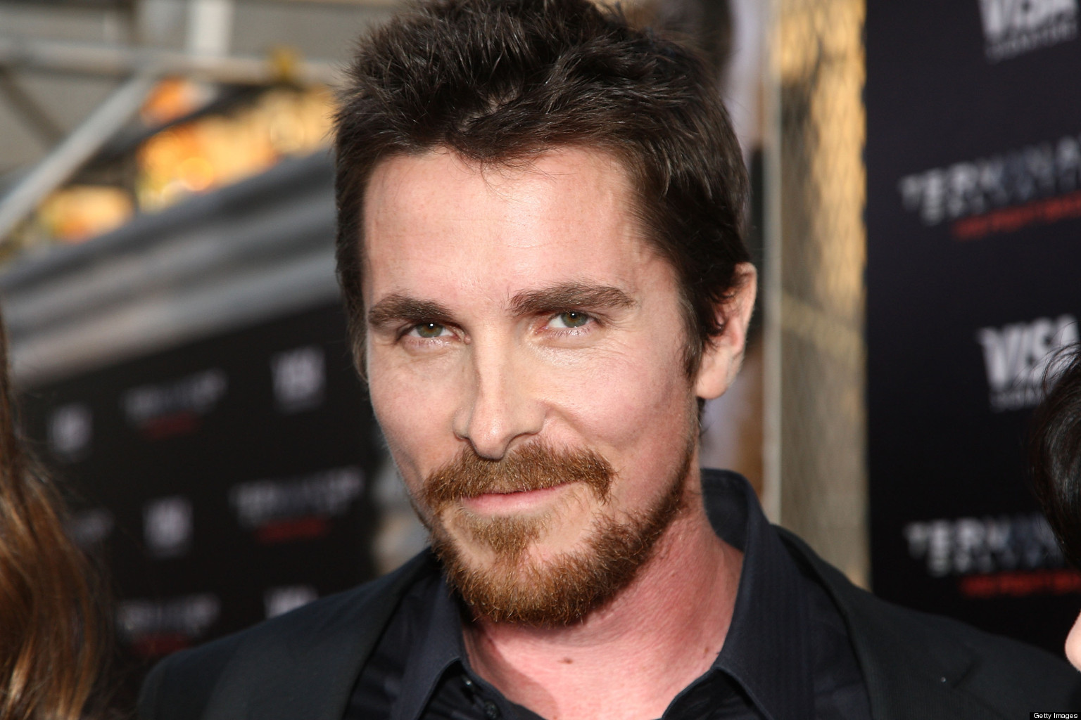 Christian Bale's Combover Is His Latest Transformation On Set (PHOTO ... Christian Bale