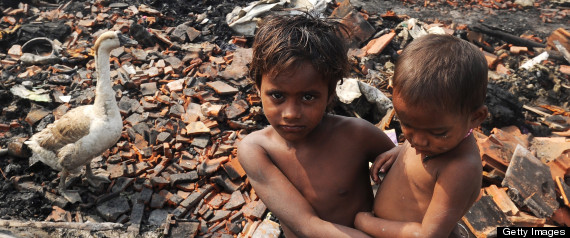 1 IN 6 INDIA CITY DWELLERS SLUMS