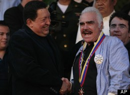 Vicente Fernandez Y Hugo Chavez