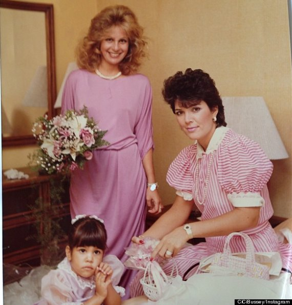 Kris And Karen Houghton >> Kris Jenner Young: CiCi Bussey Shares Old-School Kardashian Picture (PHOTO) | HuffPost