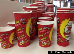 Roll Up The Rim Cups
