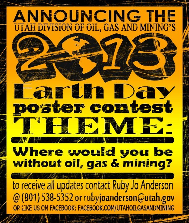 Poster Contest Celebrating Fossil Fuels Triggers Heated Energy Debate In Utah