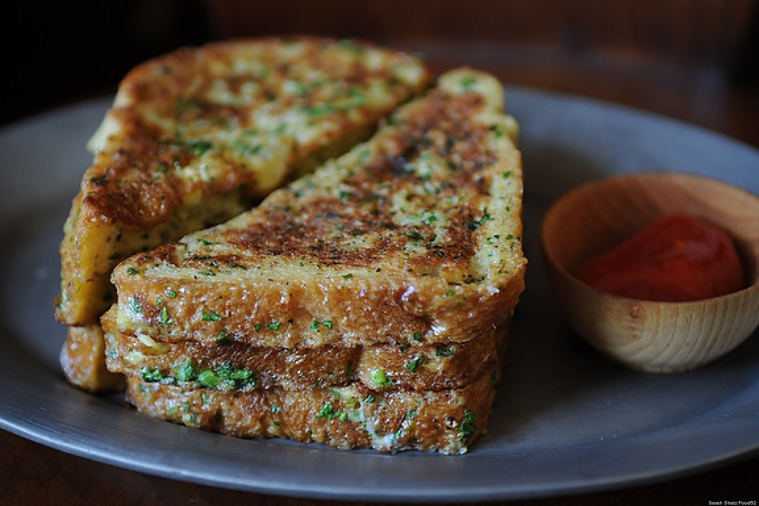 Dinner In 10: Savory Pain Perdu Recipe | HuffPost