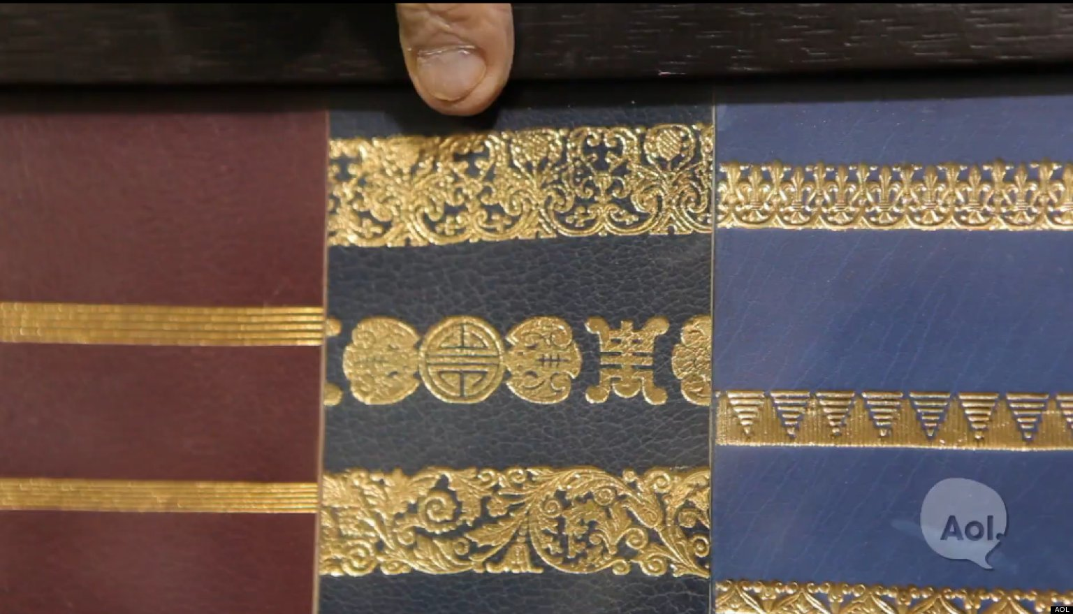 WATCH: Art Of The Bookbinder