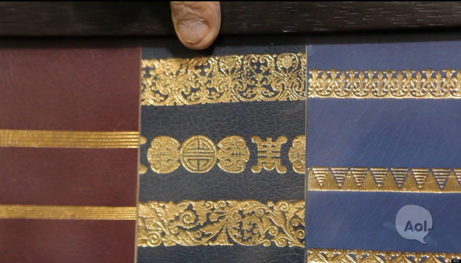 WATCH: Art Of The Bookbinder