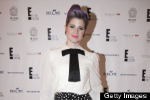 Kelly Osbourne Keeps Things Black And White For Amsterdam Appearance