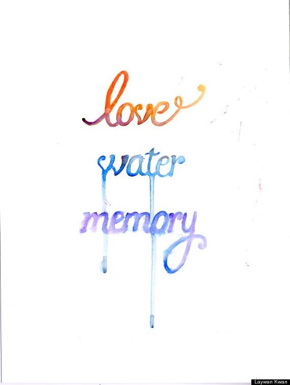 love water memory cover