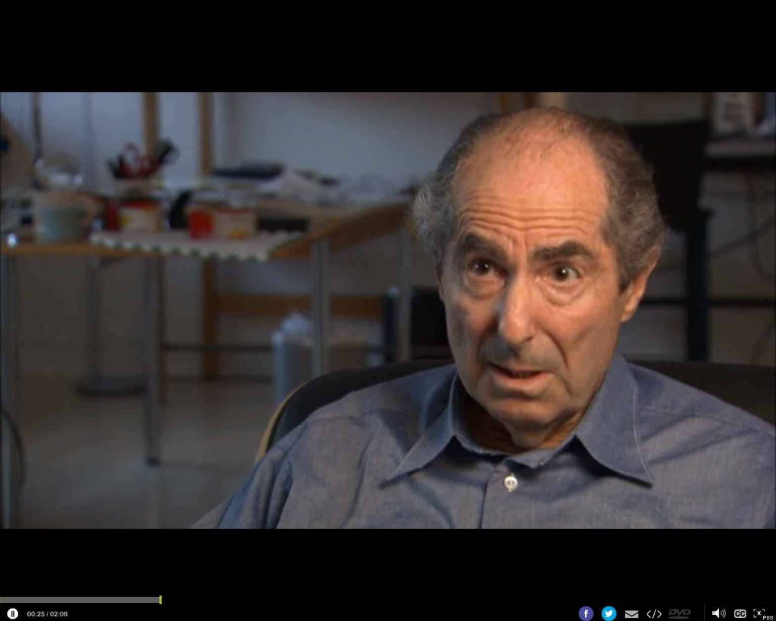Philip Roth On Ebooks: Pbs Documentary Reveals Author's Thoughts On The  Future Of Reading  Huffpost