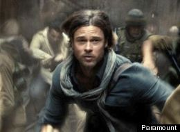 WATCH: Brad Pitt Searches For Zombie Cure In First 'World War Z' Trailer