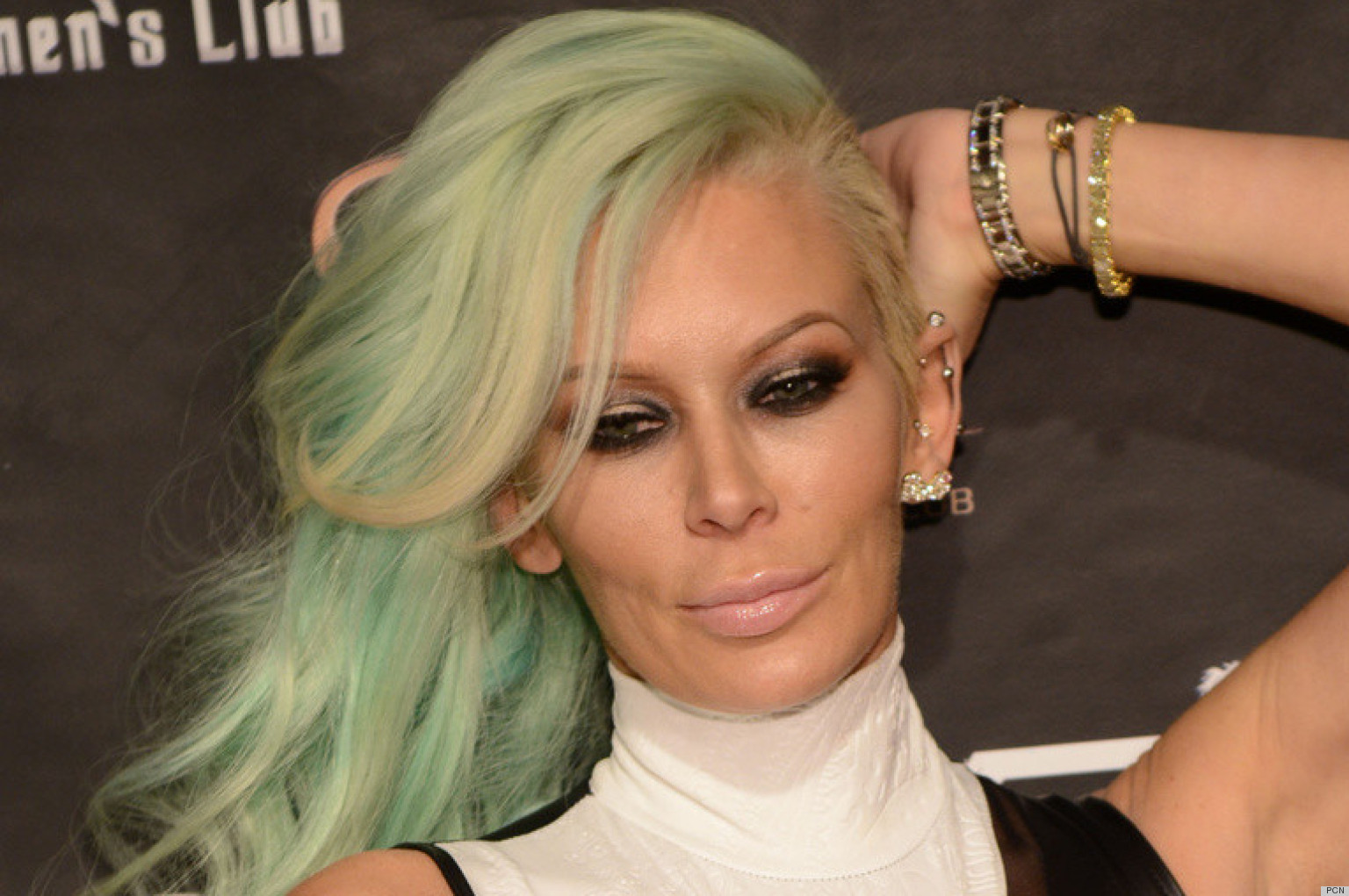 <b>Jenna Jameson's</b> Jumpsuit Is A Sight To Behold (PHOTOS) | The Huffington Post - o-JENNA-JAMESON-JUMPSUIT-facebook