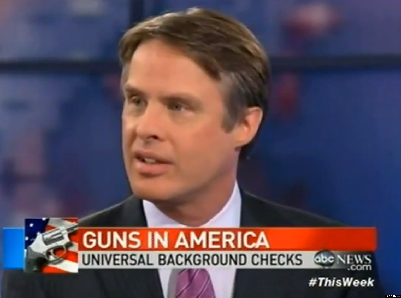 Terry Moran To Karl Rove Stop Scaring People Over Gun Control Video Huffpost