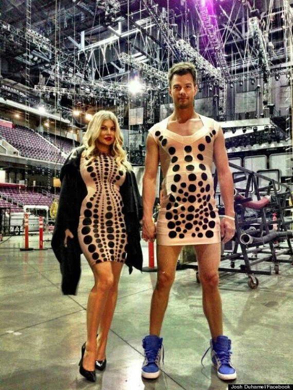 Fergie Pregnant: Josh Duhamel Dresses Up As Wife (PHOTO) | The ...
