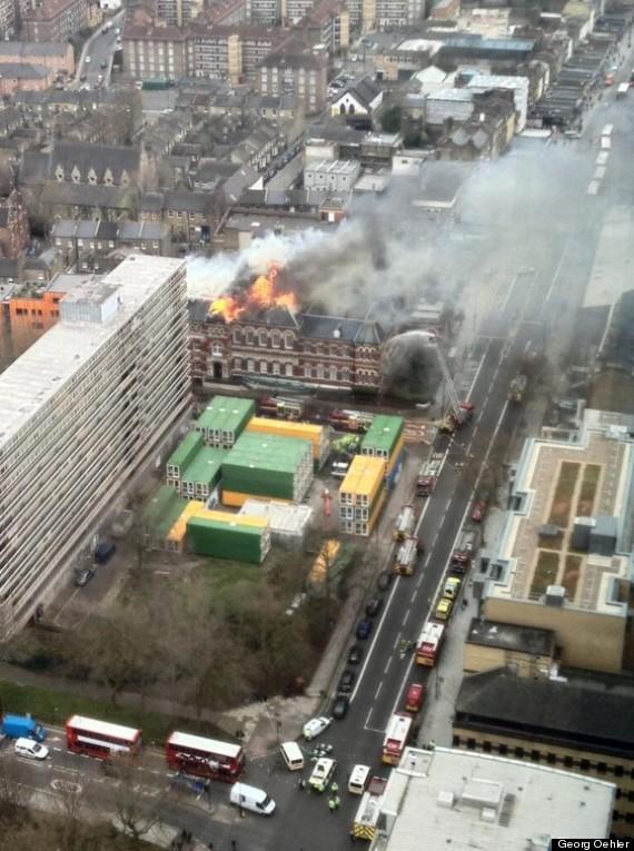 fire southwark